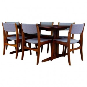 SKOVBY CHAIRS DANISH DESIGN ROSEWOOD MID-CENTURY