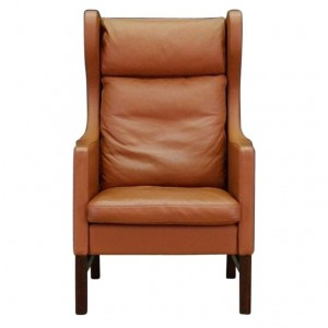SKIPPERS ARMCHAIR DANISH DESIGN LEATHER VINTAGE
