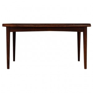 DINING TABLE ROSEWOOD VINTAGE DANISH DESIGN