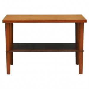 COFFEE TABLE 60s 70s TEAK SCANDINAVIAN DESIGN