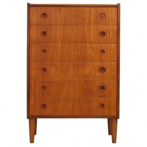 RETRO CHEST OF DRAWERS TEAK DANISH DESIGN 60 70