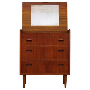 SECRETAIRE TEAK DANISH DESIGN CLASSIC
