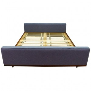 BED ROSEWOOD CLASSIC VINTAGE RETRO 60 70