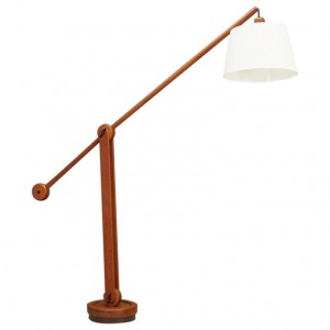FLOOR LAMP VINTAGE 60 70 DANISH DESIGN