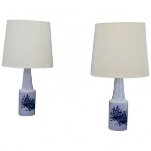 FOG & MORUP TABLE LAMP DANISH DESIGN PORCELAIN