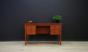 WRITING DESK TEAK VINTAGE DANISH DESIGN RETRO