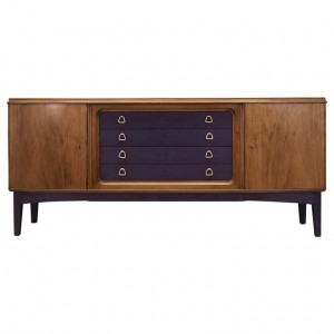 Sideboard walnut, Danish design, 70's