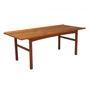 Teak coffee table, Danish design, 1970s, production: Denmark