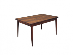 Rosewood table, Danish design, 60s, production: Denmark