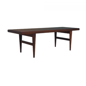 Rosewood coffee table, 70s, Danish design, made in Denmark