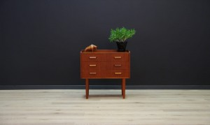 VINTAGE CHEST OF DRAWERS DANISH DESIGN 60 70 RETRO