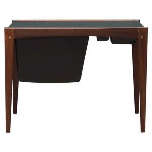 Sewing table teak, Danish design, 60's
