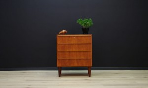 RETRO TEAK CHEST OF DRAWERS DANISH DESIGN