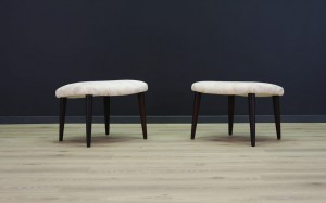 CLASSIC HOCKER / STOOL DANISH DESIGN 60/70
