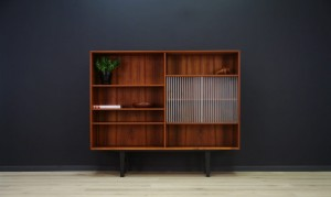 BOOKCASE SCANDINAVIAN DESIGN RETRO TEAK
