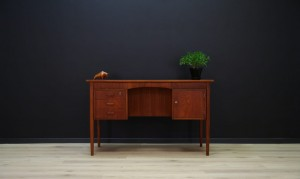 TEAK WRITING DESK DANISH DESIGN VINTAGE