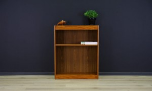 RETRO TEAK BOOKCASE DANISH DESIGN VINTAGE 60/70