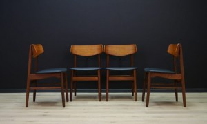 CHAIRS DANISH DESIGN VINTAGE MID-CENTURY