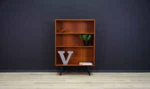 ERIK JENSEN BOOKCASE TEAK DANISH DESIGN RETRO