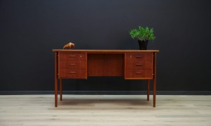 WRITING DESK VINTAGE RETRO 60 70 DANISH DESIGN
