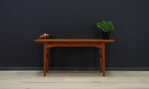 TEAK COFFEE TABLE DANISH DESIGN VINTAGE
