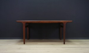 JOHANNES ANDERSEN TEAK TABLE SCANDINAVIAN DESIGN ORIGINAL 60 70