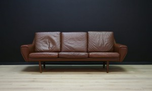 DANISH DESIGN SOFA LEATHER ORIGINAL