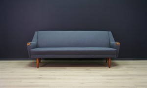 VINTAGE SOFA SCANDINAVIAN DESIGN TEAK RETRO