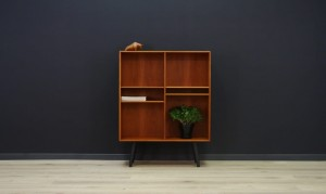 CLASSIC BOOKCASE DANISH DESIGN RETRO TEAK