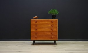 DANISH DESIGN CHEST OF DRAWERS TEAK VINTAGE