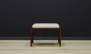 HOCKER FOOTSTOOL DANISH DESIGN VINTAGE