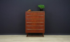 CHEST OF DRAWERS DANISH DESIGN TEAK VINTAGE