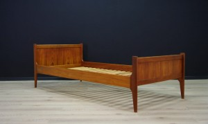 RETRO BED VINTAGE TEAK DANISH DESIGN