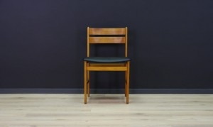 SCANDINAVIAN DESIGN CHAIR 60 70 RETRO TEAK