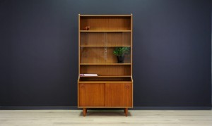 DANISH DESIGN BÜCHERREGAL TEAK MID-CENTURY CLASSIC