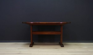 ROSEWOOD TABLE DANISH DESIGN RETRO CLASSIC