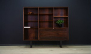 KAI WINDING BOOKCASE DANISH DESIGN RETRO