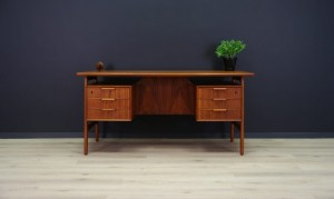 OMANN JUN WRITING DESK CLASSIC TEAK VINTAGE