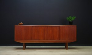 E. W. BACH SIDEBOARD TEAK DANISH DESIGN RETRO