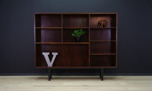 OMANN JUN ROSEWOOD BOOKCASE DANISH DESIGN