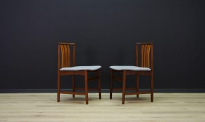 SCANDINAVIAN DESIGN CHAIRS 60 70 TEAK
