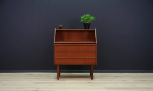 HANBJERG SECRETAIRE TEAK DANISH DESIGN RETRO