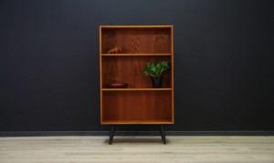 VINTAGE BOOKCASE TEAK DANISH DESIGN RETRO