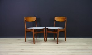 VINTAGE CHAIRS 60 70 TEAK DANISH DESIGN ORIGINAL