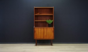 BOOKCASE RETRO TEAK DANISH DESIGN VINTAGE