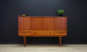 60 70 HIGHBOARD TEAK DANISH DESIGN RETRO