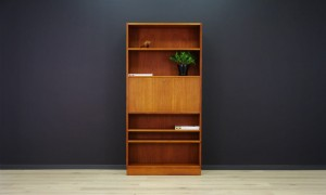 RETRO BOOKCASE TEAK DANISH DESIGN VINTAGE