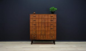 V MOBLER CHEST OF DRAWERS ROSEWOOD 60 70 RETRO