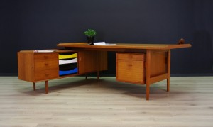 ARNE VODDER WRITING DESK SIDEBOARD TEAK SIBAST
