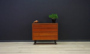 60 70 VINTAGE CHEST OF DRAWERS TEAK RETRO